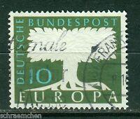 Bund 294 , o , Europa 1958 mit Wz 5