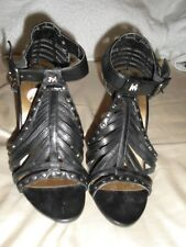MORGAN DE TOI Size UK.6/EUR.39 Black Gladiator Sandals - BNWOB