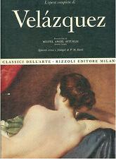 VELAZQUEZ L'OPERA COMPLETA RIZZOLI 1969 CLASSICI DELL'ARTE 26