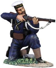 William Britains GUERRA lungo il Nilo Brigata Navale Inglese in ginocchio che spara 27053