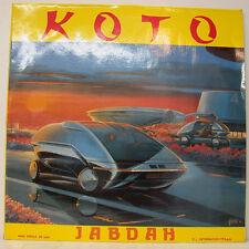"KOTO JABDAH 12"" MAXI SINGLE  (g119)"