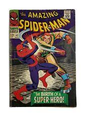 🔥 AMAZING SPIDER-MAN #42 WOW KEY ROMITA 3RD APP MARY JANE STAN LEE 1966