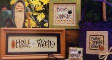 "Lizzie Kate Cross Stitch Chart ""Halloween Thrillogy"""