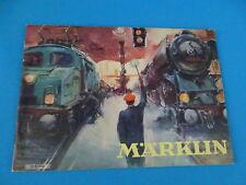 Marklin Katalog Catalog1952 NL