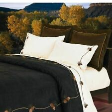 HiEnd black pine duvet cover twin