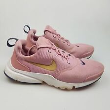 Girl's Boy's NIKE 'Presto Fly' Sz 5Y Runners Pink  White VGCn   3+ Extra 10% Off