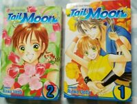 Tail of the Moon vol. 1 & 2 by Rinko Ueda Viz Manga Graphic Novel Book English