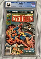 Eternals #3 1st Appearance Sersi CGC 9.8 NM+/M Marvel1976 FILM'S MAIN CHARACTER