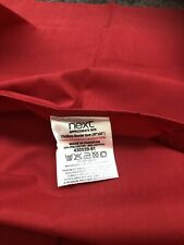 2 X Next Red Oxford Pillowcases