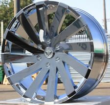 "24"" INCH GIMA 6 CHR RIMS AND TIRES 08 FORD F150 NAVIGATOR EXPEDITION MARK LT"