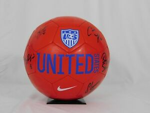 2015 USWNT Signed Soccer Ball 5 Sigs Boxx Sauerbrunn Lloyd Rodriquez Naeher JSA