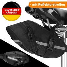 Satteltasche Fahrradtasche Fahrrad Tasche schwarz für Rennrad MTB wasserdicht