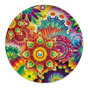 Jigsaw Puzzles Colourful Flower Shape Jigsaw Adult Kid Toy Home Decor 1000PCS AU