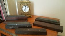 More details for vintage lot of 3 sharpening stones in wooden boxes