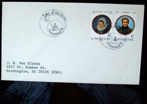 FDC From Luxembourg Issued on 3/May/1977