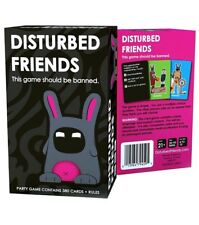 New Sealed Disturbed Friends - This game should be banned FREE 1st Class SHIP