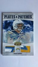2010 Panini Gridiron Gear Philip River Plates and Patches Auto Card #05/10