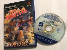 SONY PLAYSTATION 2 PS2 GAME WAR OF THE MONSTERS FULL PROMO EDITION IN NORMAL BOX