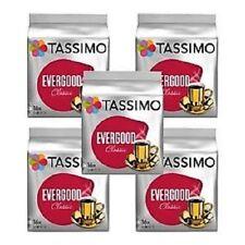 5 x Packs Tassimo Evergood Classic T Discs Pods - 80 T Discs 80 Drinks