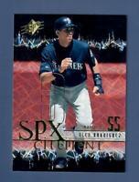 2000 Upper Deck SPx SPXcitement Alex Rodriguez #XC6 Seattle Mariners