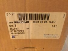 Genuine GM Seatbelt Kit RH 88935240