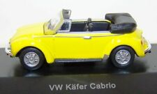 SCHUCO VW Käfer Cabrio Convertible Bug 1303 1:87 EDITION gelb/yellow - OVP