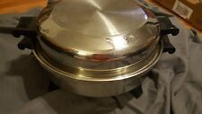 """Society 12"""" Electric Skillet Stainless Steel *Model # 7253"""