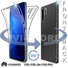 Custodia per Huawei P30 / Lite / PRO Cover Fronte Retro 360° Full Body Touch TPU
