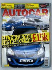 Autocar Magazine 18 April 2007 Vectra Skoda Fabia Mini