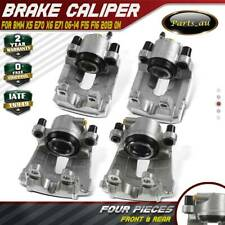 4x Brake Calipers Front + Rear for BMW X5 E70 X6 E71 2006-2014 F15 F16 2013 On