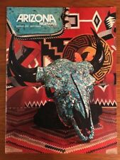 Collectible, Arizona Highways Magazine, January 1974, Turquoise, Indian Jewelry