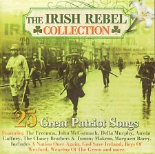 THE IRISH REBEL COLLECTION - 25 TRACKs CD (1916 - 2016) includes Soldier's Song