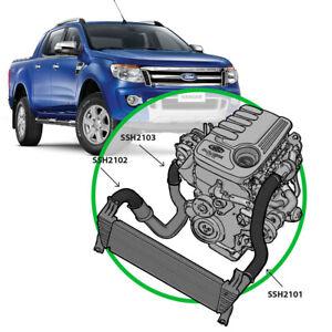 SAAS Intercooler Pipe Hose Kit for Ford Ranger PX & Mazda BT50 3.2L 5cyl 11>2022