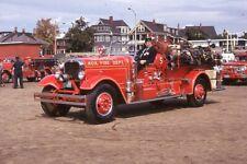 Swampscott MA 1935 Seagrave Suburbanite Pumper - Fire Apparatus Slide
