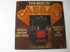 The Best of Abba World LP Record India-1514
