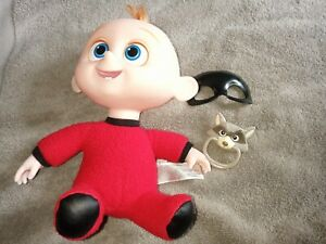 Disney Jakks INCREDIBLES 2 BABY JACK JACK FIGURE Baby removable mask & dummy