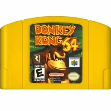 Donkey Kong 64 Authentic Nintendo 64 N64 Game Cartridge CLEANED *VG