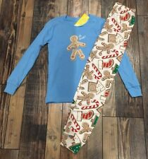 Gymboree Boys Oh Snap Gingerbread Christmas Holiday Cookie PJs Nwt Size 6