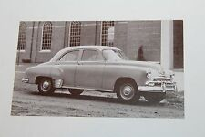 1952 CHEVROLET STYLINE SPECIAL 4 DOOR    DEALER ADVERTISING  POSTCARD