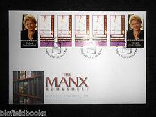 Isla De Man Post Office Barbara Taylor Bradford primer día cubierta Manx Sellos 2003