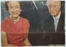 Duke & Duchess of Windsor King Edward VIII Wallis Simpson Signed Autograph Photo