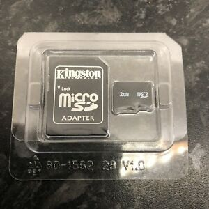 Kingston Technology 2 GB Micro SD Card With Adapter - For Phone, Camera & PC