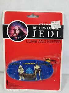 Star Wars Return Of The Jedi Comb And Keeper 1983 Vintage Sealed Accessory