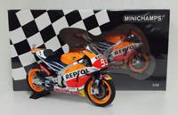 MINICHAMPS MARC MARQUEZ 1/12 #93 MODELLINO HONDA REPSOL RC213V MOTOGP 2016 NEW