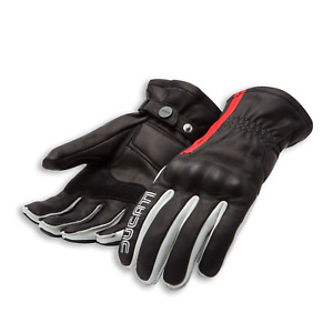 Original Ducati 77 C1 Gloves Motorcycle Gloves Spidi New Leather Black