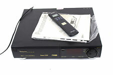 PANASONIC NV-FS88EG Videorecorder S-VHS Video Recorder HiFi Stereo Player BLACK