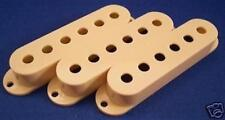 VINTAGE CREAM PICKUP COVERS 4 FENDER STRATOCASTER STRAT