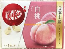 ONLY SELL AIRPORT Nestle Kit Kat Chocolate Peach 3 mini bar 1 box Kitkat JAPAN