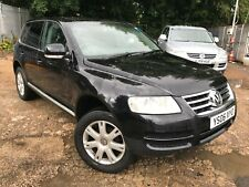 06 VOLKSWAGEN TOUAREG 2.5 TDI  SATNAV, LEATHER, 1 F/OWNERS, 8 SERVICES LOVELY