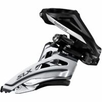 Shimano SLX M677-H double front derailleur, high clamp, side swing, front pull